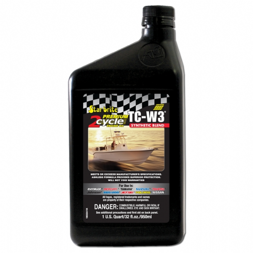 Starbrite TC-W3 Synthetic Blend 2 Cycle Premium Engine Oil
